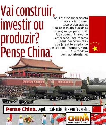 China, um país de todos!