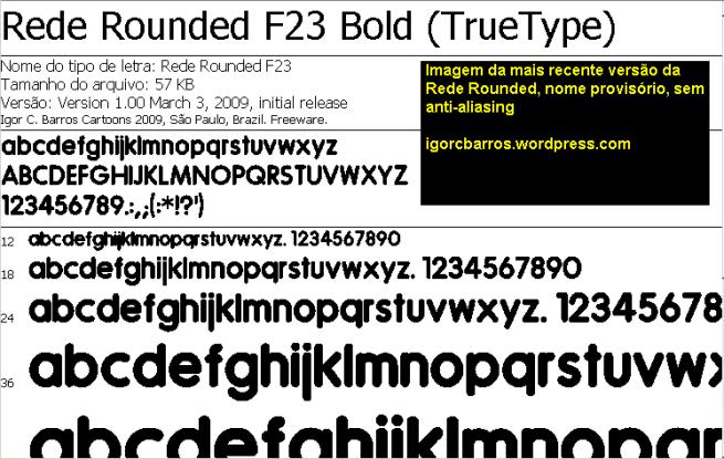 Neste projeto, o mais difícil é fazer as letras minúsculas, que são muito mais complexas e tem muito menos referências do que as maiúsculas.