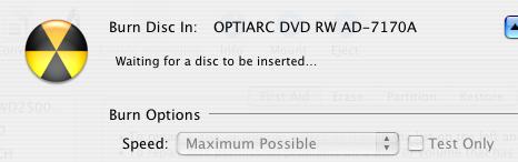 Tela do Mac OS X mostrando a razão da minha calvície