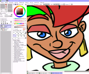 Software Paint Tool SAI